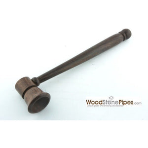 "5"" Smoking Tobacco Pipe Collectible Rosewood Pipe - WoodStonePipes.com   - 2"