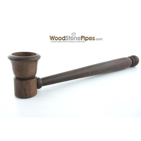 "5"" Smoking Tobacco Pipe Collectible Rosewood Pipe - WoodStonePipes.com   - 5"