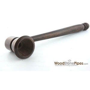 "5"" Smoking Tobacco Pipe Collectible Rosewood Pipe - WoodStonePipes.com   - 6"