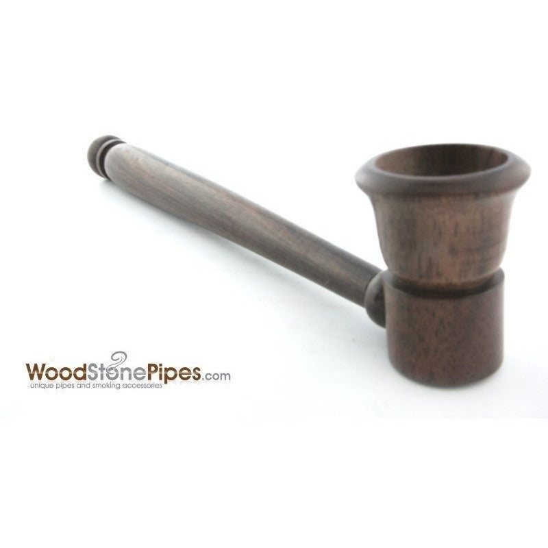 "5"" Smoking Tobacco Pipe Collectible Rosewood Pipe - WoodStonePipes.com   - 8"