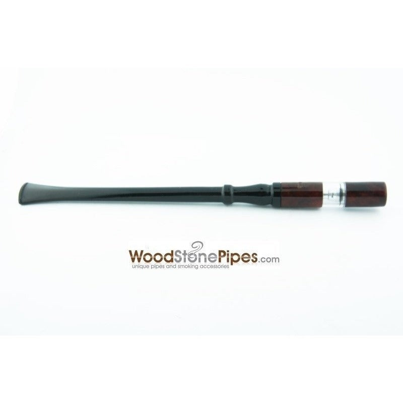 "7"" Reusable Rosewood Cigarette Holder - WoodStonePipes.com   - 1"
