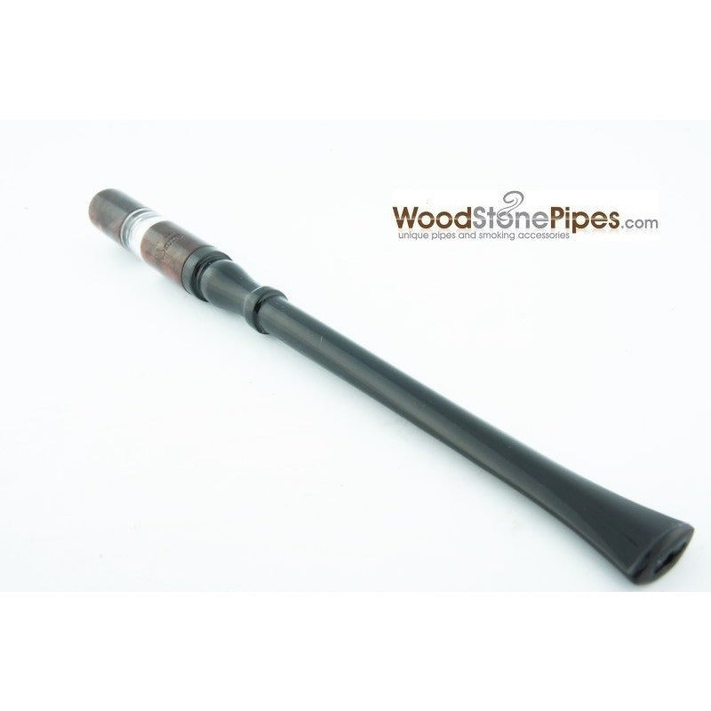 "7"" Reusable Rosewood Cigarette Holder - WoodStonePipes.com   - 2"