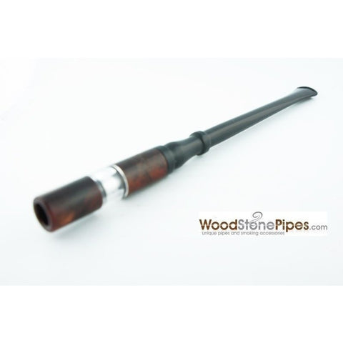 "7"" Reusable Rosewood Cigarette Holder - WoodStonePipes.com   - 3"
