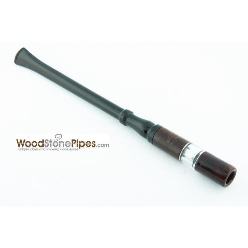 "7"" Reusable Rosewood Cigarette Holder - WoodStonePipes.com   - 4"