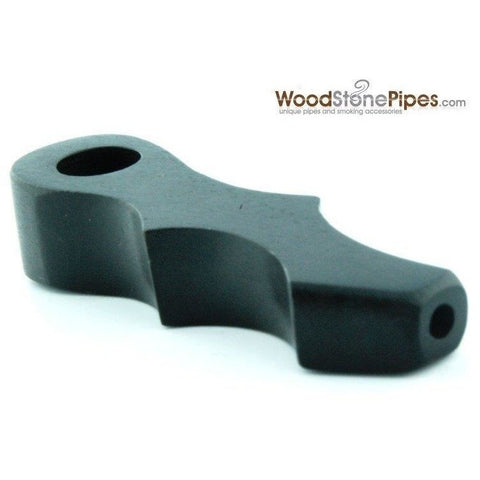 Mini Rosewood Wood Pipe - Smoking Pipe - WoodStonePipes.com   - 3
