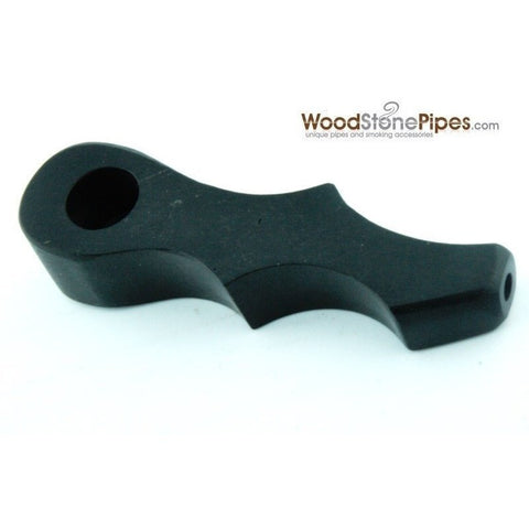 Mini Rosewood Wood Pipe - Smoking Pipe - WoodStonePipes.com   - 4