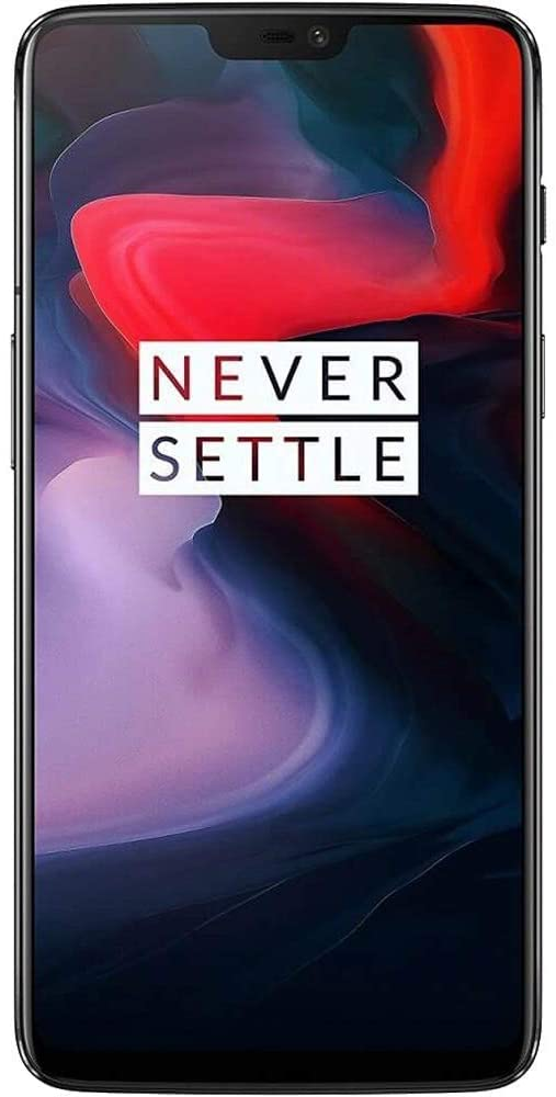 OnePlus 6 A6003 Dual-SIM Snapdragon 845 ROM Midnight Black (8GB RAM + 128GB Storage)