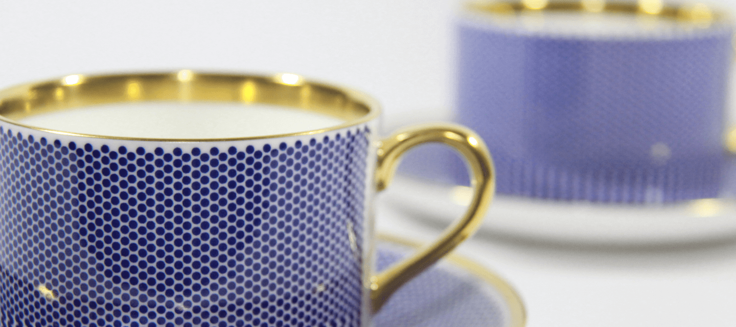 Benday Range - Cobalt Blue and Gold - The New English