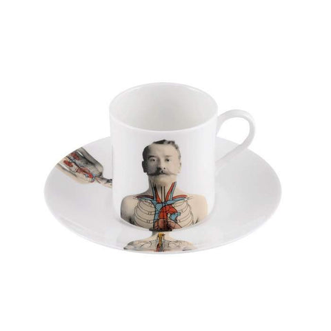 The New English:Anatomica Espresso Cup & Saucer
