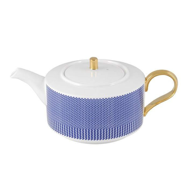 The New English:Benday Cobalt Teapot