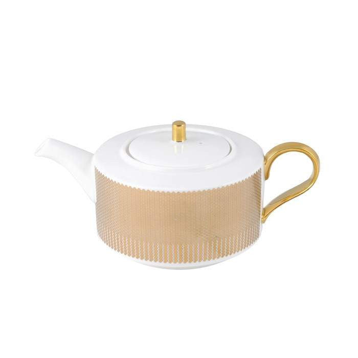 The New English:Benday Gold Teapot