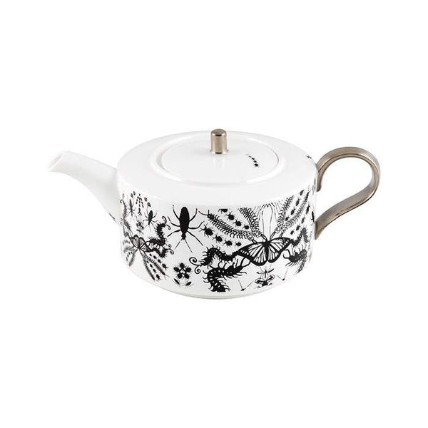 The New English:Entomo Black Teapot