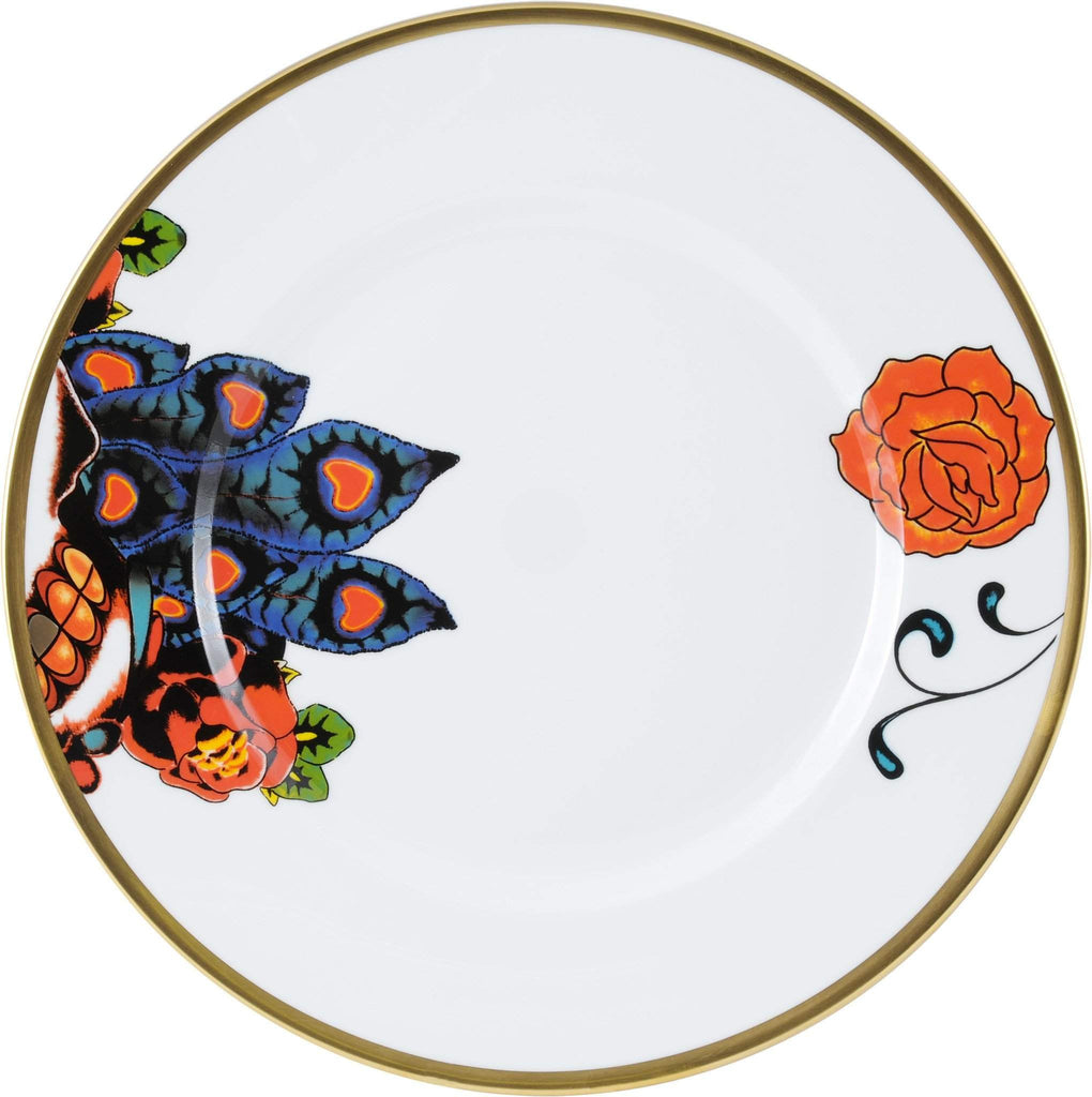 The New English:Inkhead Dinner Plate