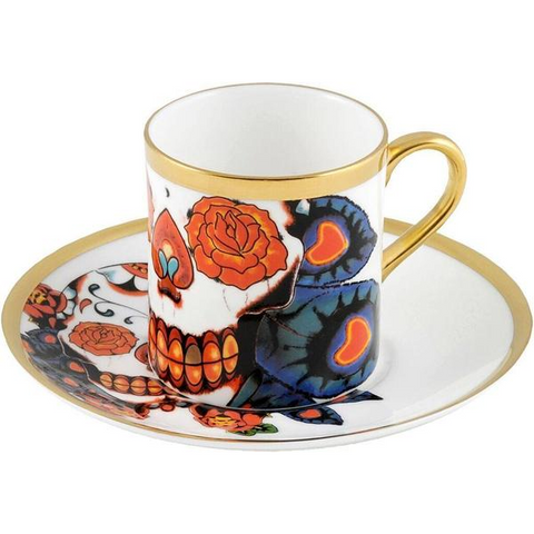 The New English:Inkhead Espresso Cup & Saucer