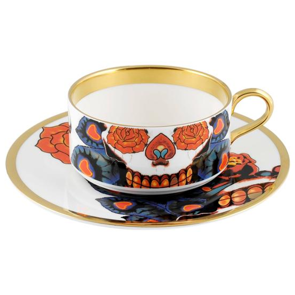 The New English:Inkhead Tea Cup & Saucer