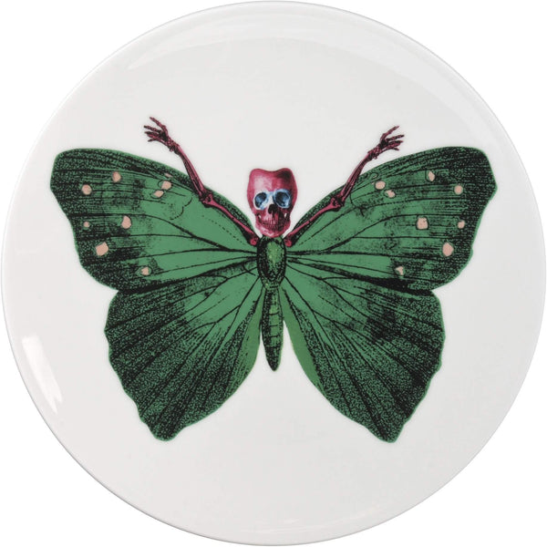 The New English:Lepidoptera Crudus Cake Plate