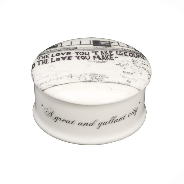 The New English:Love London Abbey Road Trinket Box
