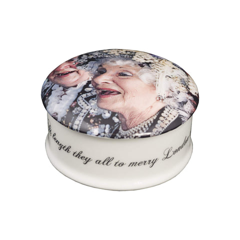 The New English:Love London Pearly Queens Trinket Box
