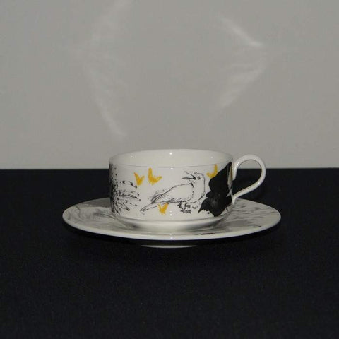 Mad Potters Mocha Cup and Saucer