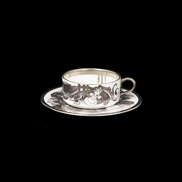 The New English:Mad Potters Teacup & Saucer (Limited Edition of 10)