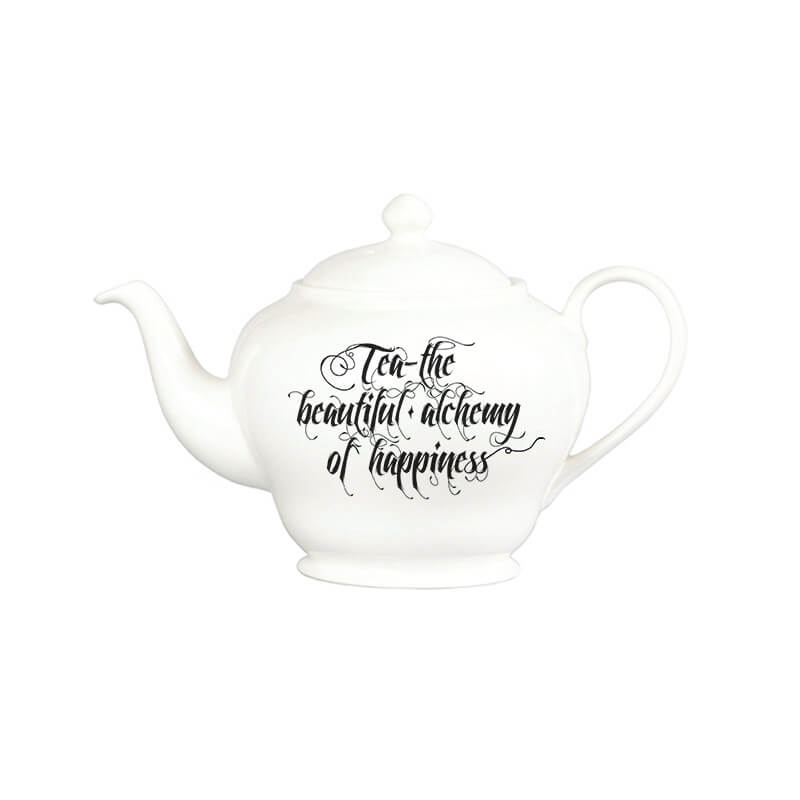 The New English:Beautiful Alchemy - Teapot