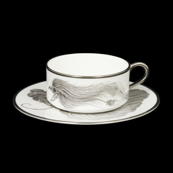 The New English:Mad Potters Teacup and Saucer