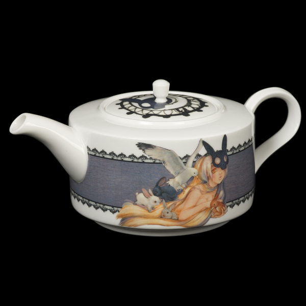 The New English:Mad Potters Teapot
