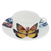 The New English:Lepidoptera Croceus Mocha Cup & Saucer