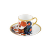 The New English:Inkhead Espresso Cup & Saucer Set x2