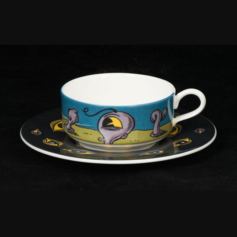 The New English:KRK Ryden - Mocha cup and Saucer