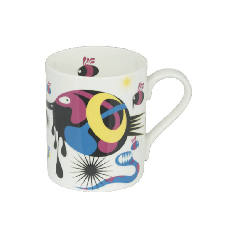 The New English:Mishiko Mug (round handle)