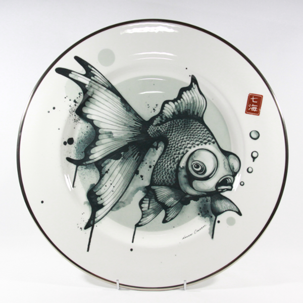 The New English:Nanami Cowdroy - Mad Potters 13'' Platter