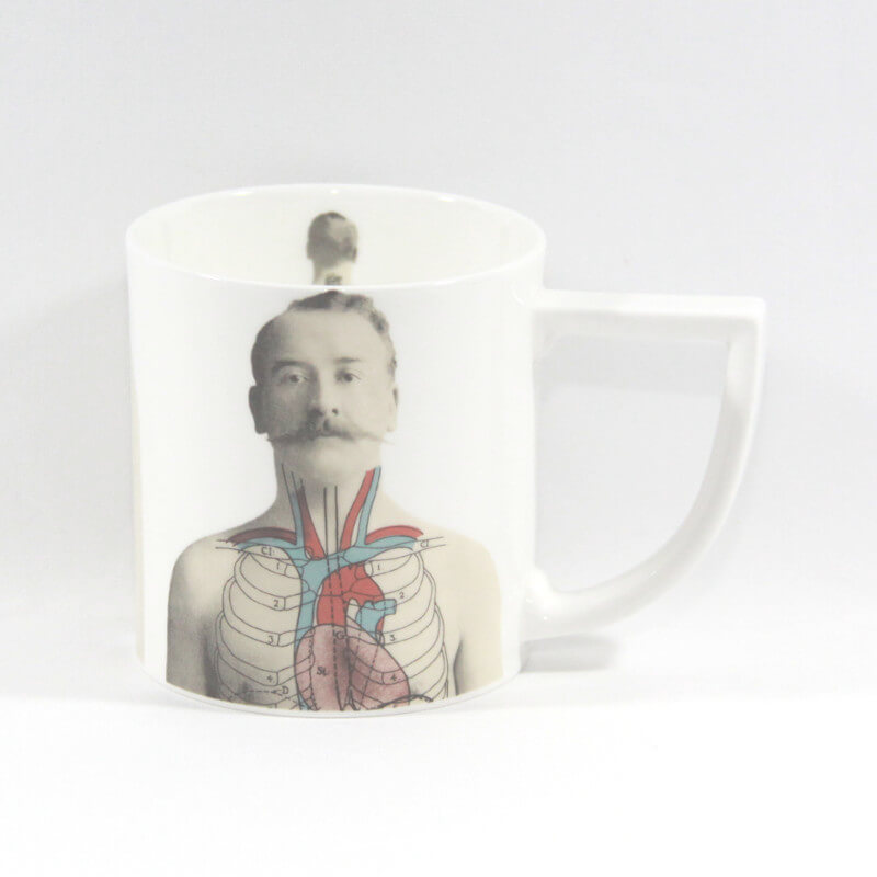 The New English:Anatomica Mug