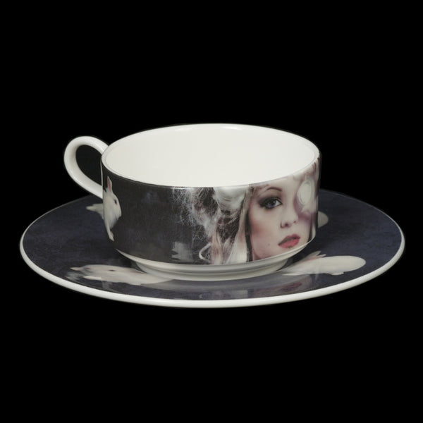 The New English:Annie Betram - Mocha Cup & Saucer