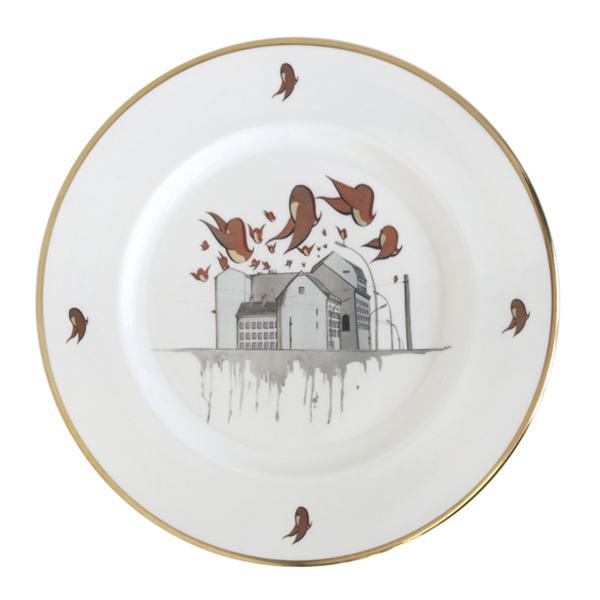 The New English:Christian Rothenhagen - 13'' Platter (22kt Gold)