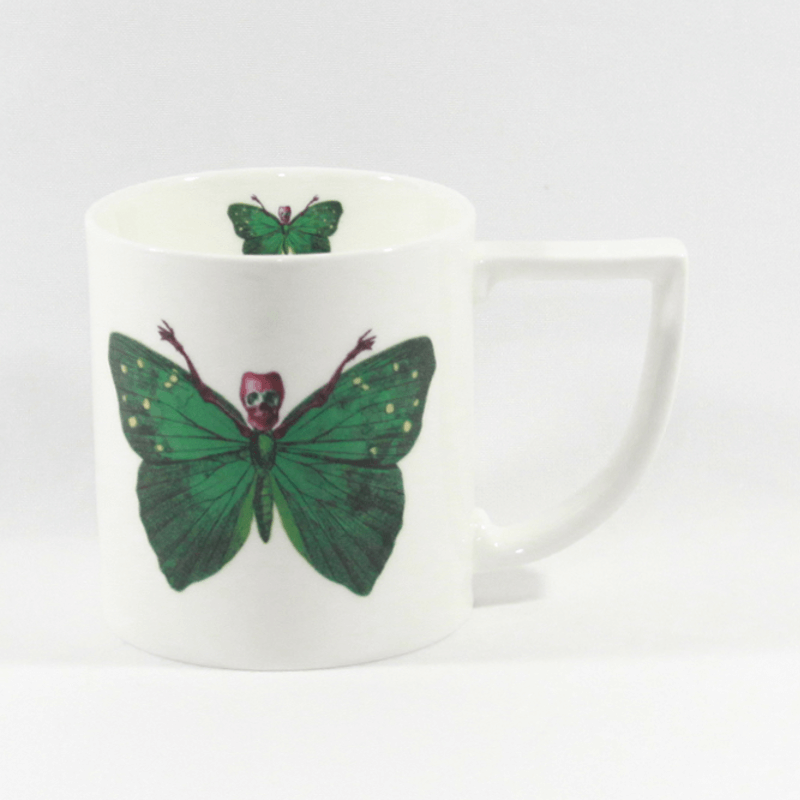 The New English:Lepidoptera - Crudus Mug