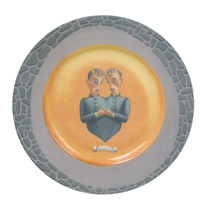 The New English:Dirk Larsen - 10'' Dinner Plate