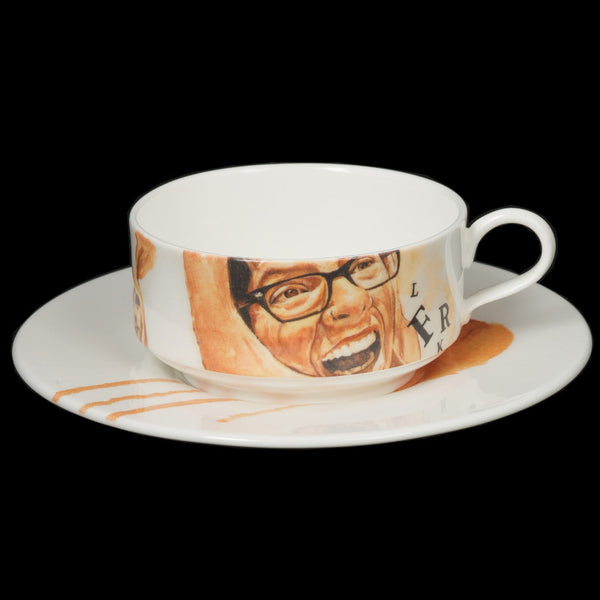 The New English:Francois Escamel - Mocha Cup and Saucer No. 1