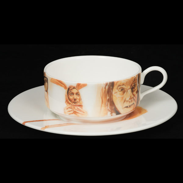 The New English:Francois Escamel - Mocha Cup and Saucer No. 2