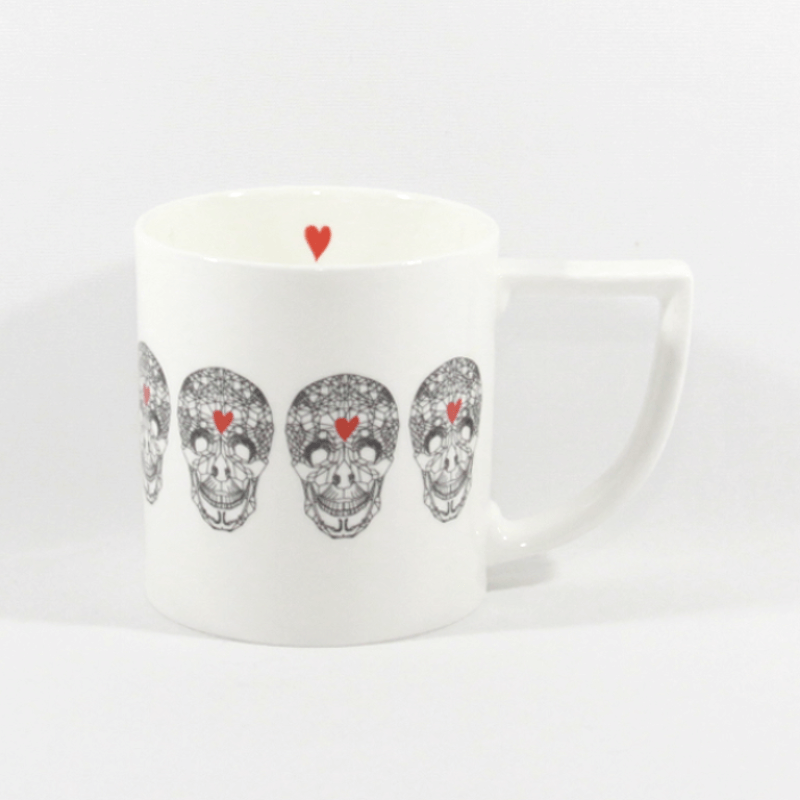 The New English:Loveskull Mug