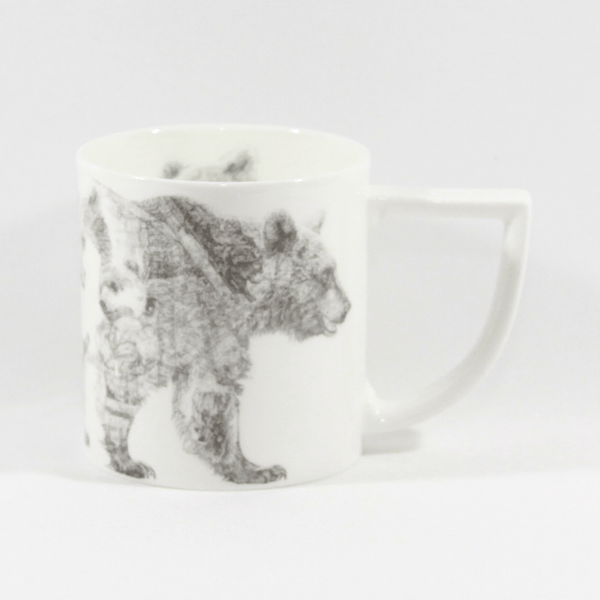 The New English:Jane McCracken - Mummy & Baby Bear Mug