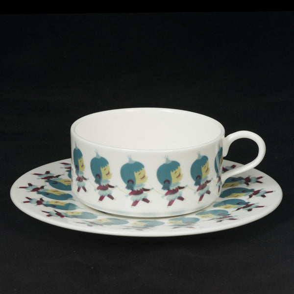 The New English:Nathan Jurevicius - Teacup and Saucer (Set 2)