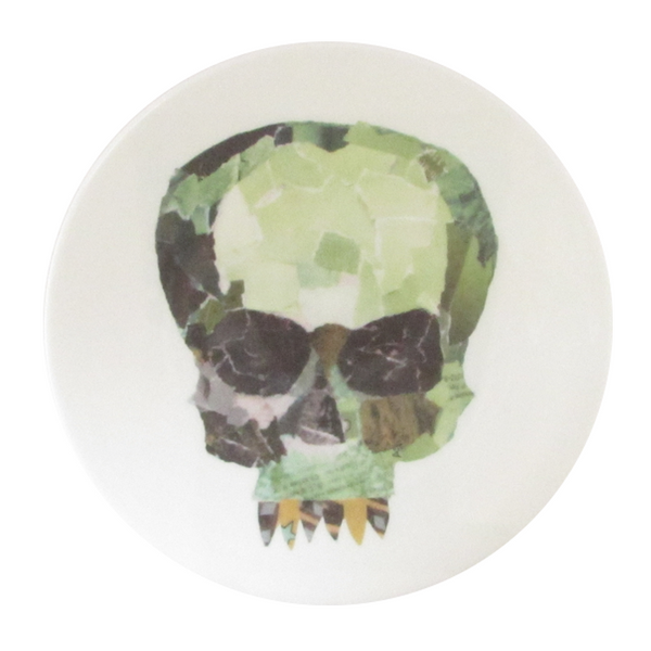 The New English: Tectonic Plate - No. 185 - Collage Skull
