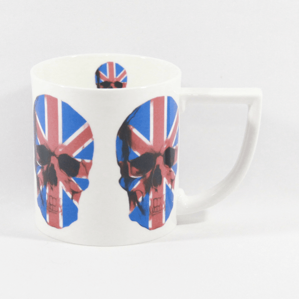 The New English:UJ Skull Bone China Mug