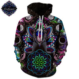 Monkey By Brizbazaar Art 3D Hoodies
