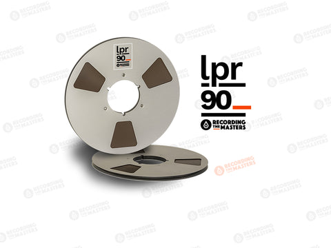 "LPR90 1/4"" Studio Master Tape On a 10.5"" Reel"