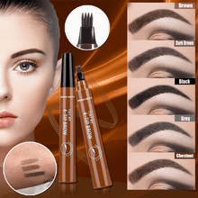 Load image into Gallery viewer, 4-Tips Microblading Eyebrow Pen