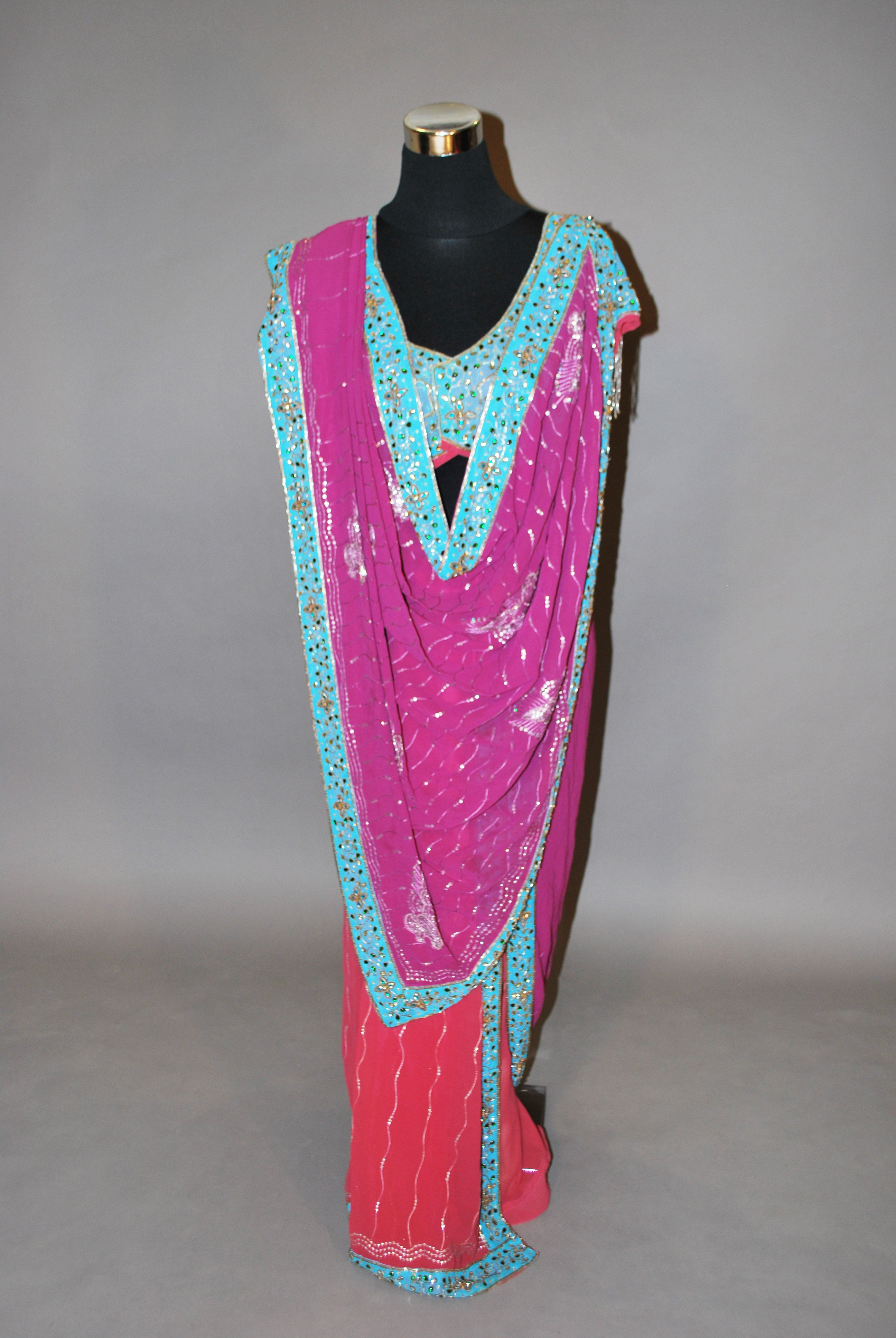 e1b4591afebc8 Onion and purple dual toned stitched saree with contrast blouse  Indian  designer saree by Shaina NC cheap and good discount  Indian designer saree  by Shaina ...