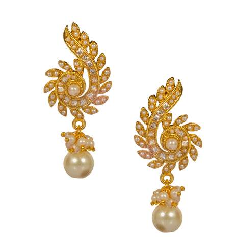 main product designer earrings thikana jewels jewellery elegant