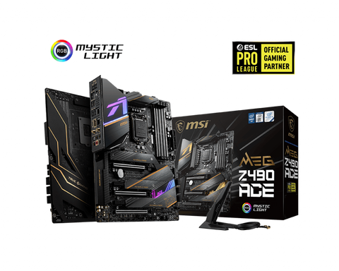MSI MEG Z490 ACE Motherboard-computerspace